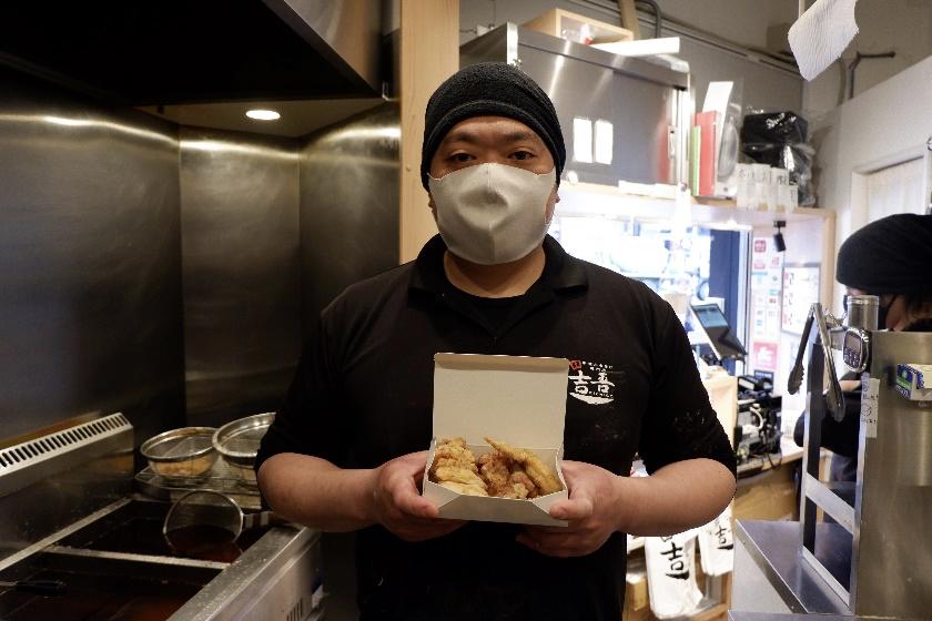 料理長の金子聡さん。からあげの聖地・中津のご出身です